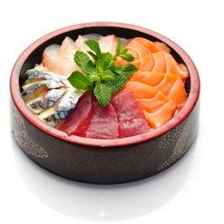 chirashi assortiment - Sushi garden Liege
