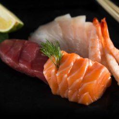 sashimi-Assortiment - Sushi garden Liege