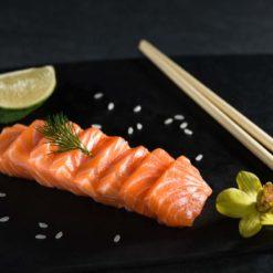 sashimi saumon - Sushi garden Liege