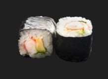 Sushi garden Liege - crevette avocat menthe