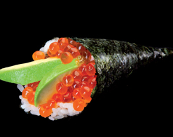 Sushi garden Liege - oeuf de saumon