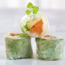 Spring roquette roll