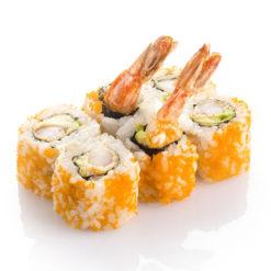 Masago roll orange